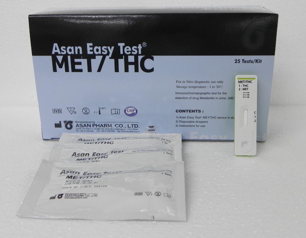 Asan  Easy Test MET/THC